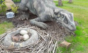Rodinka na výlete – Dinopark Praha