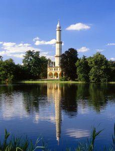 lednicky zamok minaret
