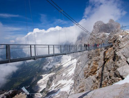 Víkend ve stínu masivu Dachsteinu
