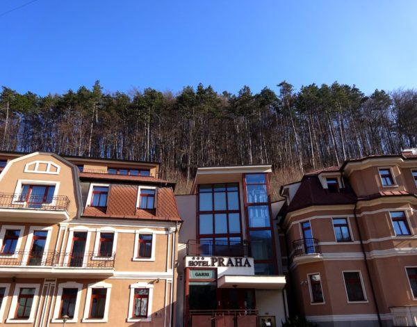 Trenčianske Teplice v Garni hotel Praha
