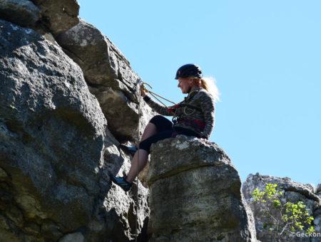 Zo života s horolezcom… KungFu Panda na skalách
