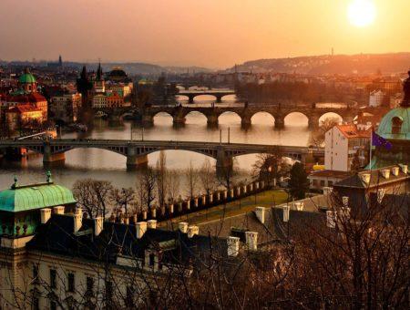 Rozmanité chute Prahy