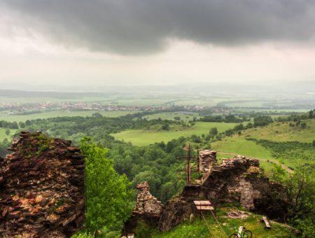 Cyklovýlet: Zrúcanina hradu Sivý Kameň