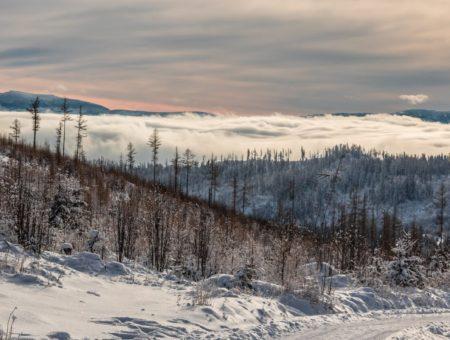 Zimné Vysoké Tatry na bicykli