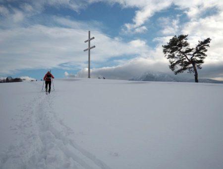 Tupá Skalka pod snehom